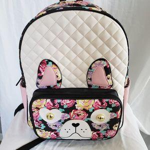 Betsey Johnson Animal Backpack